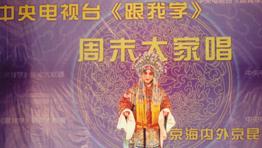 学生表演京剧