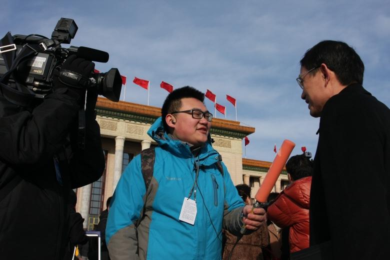 毕业生中国教育电视台记者袁波