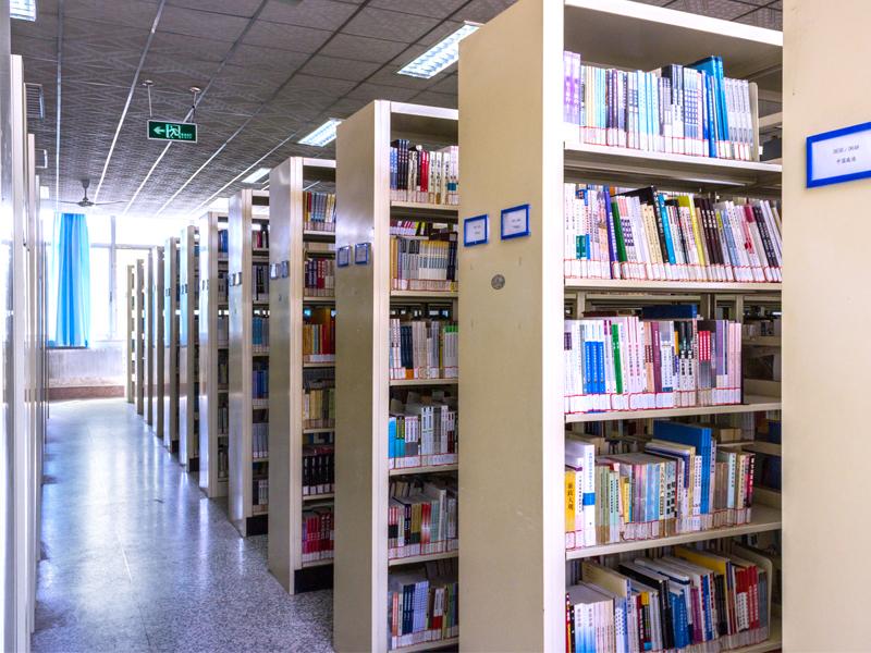 资源丰富的图书馆