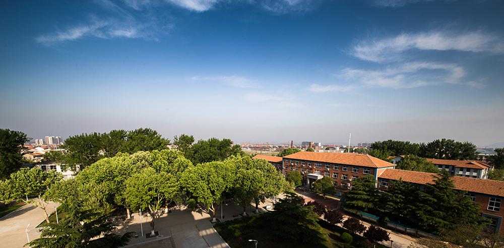 科文学院贾汪校区鸟瞰图