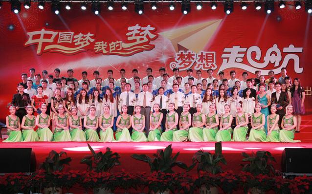 """""""中国梦 我的梦""""——科文学院新生开学典礼"""